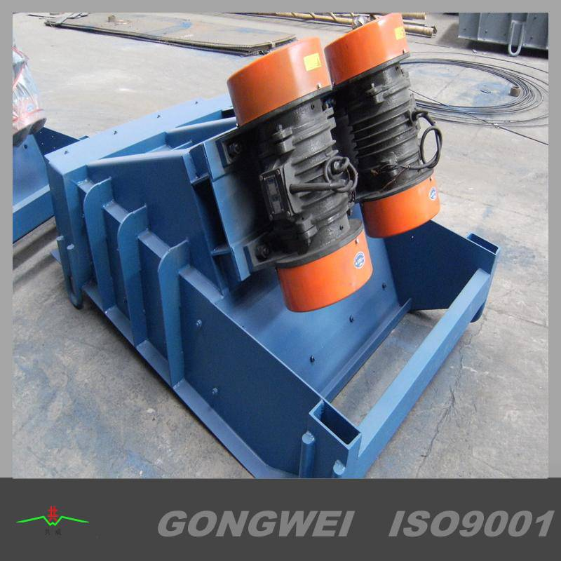 Linear vibration feeder for transport