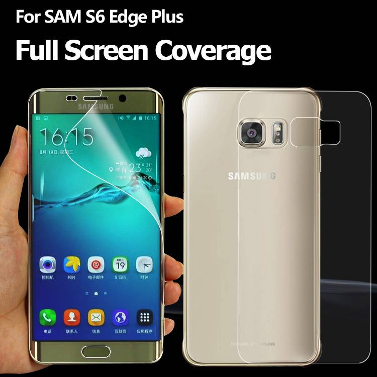 Easy Stall Shatter Proof phone screen protector for GALAXY S6 edge Plus Edge to Edge