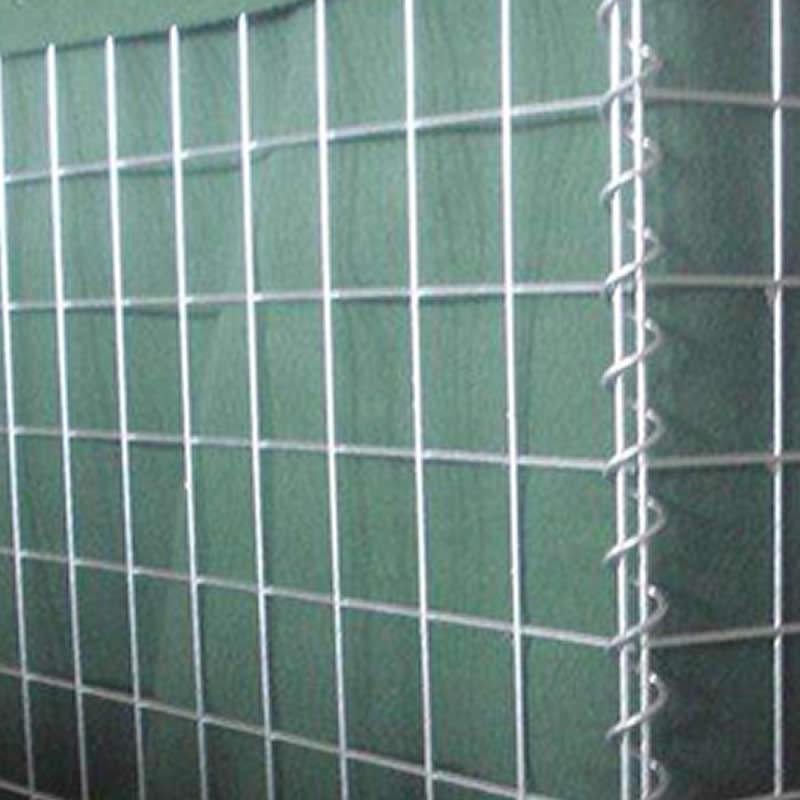 Welded mesh gabions