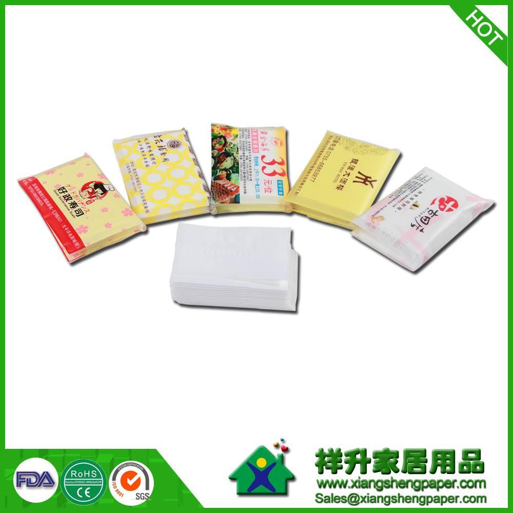 wallet tissue/advertising tissue/promotional tissue