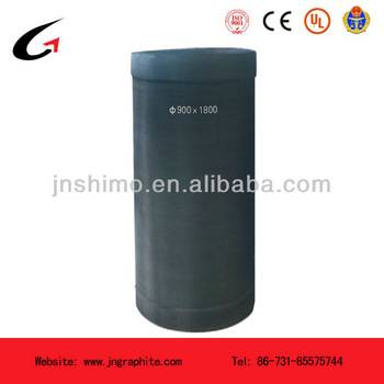 arge size,high purity,high density graphite crucible for intermediate frequency high temperature fru