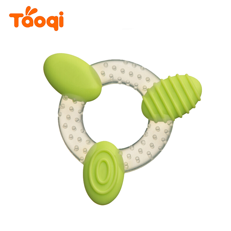 Food Grade Infant Silicone Baby Teether