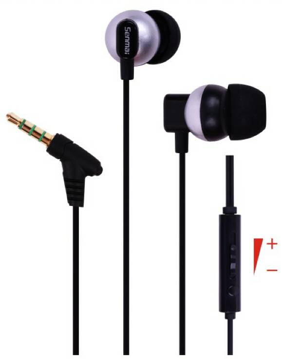 3.5mm plug,dynamic stereo line-controlled earphone/earpiece,with microphone for smartphone