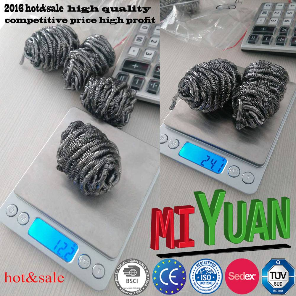 Kitchen used China factory stainless steel scourer