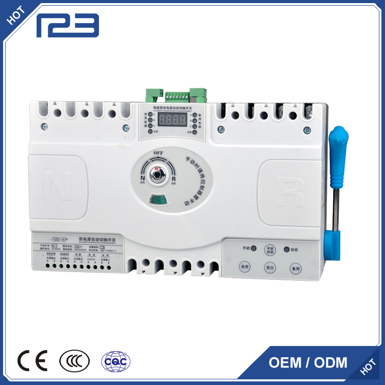 YEQ3 CB class dual-power automatic transfer switch