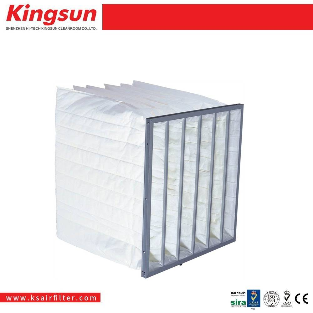 Middle efficiency dust collection bag filter