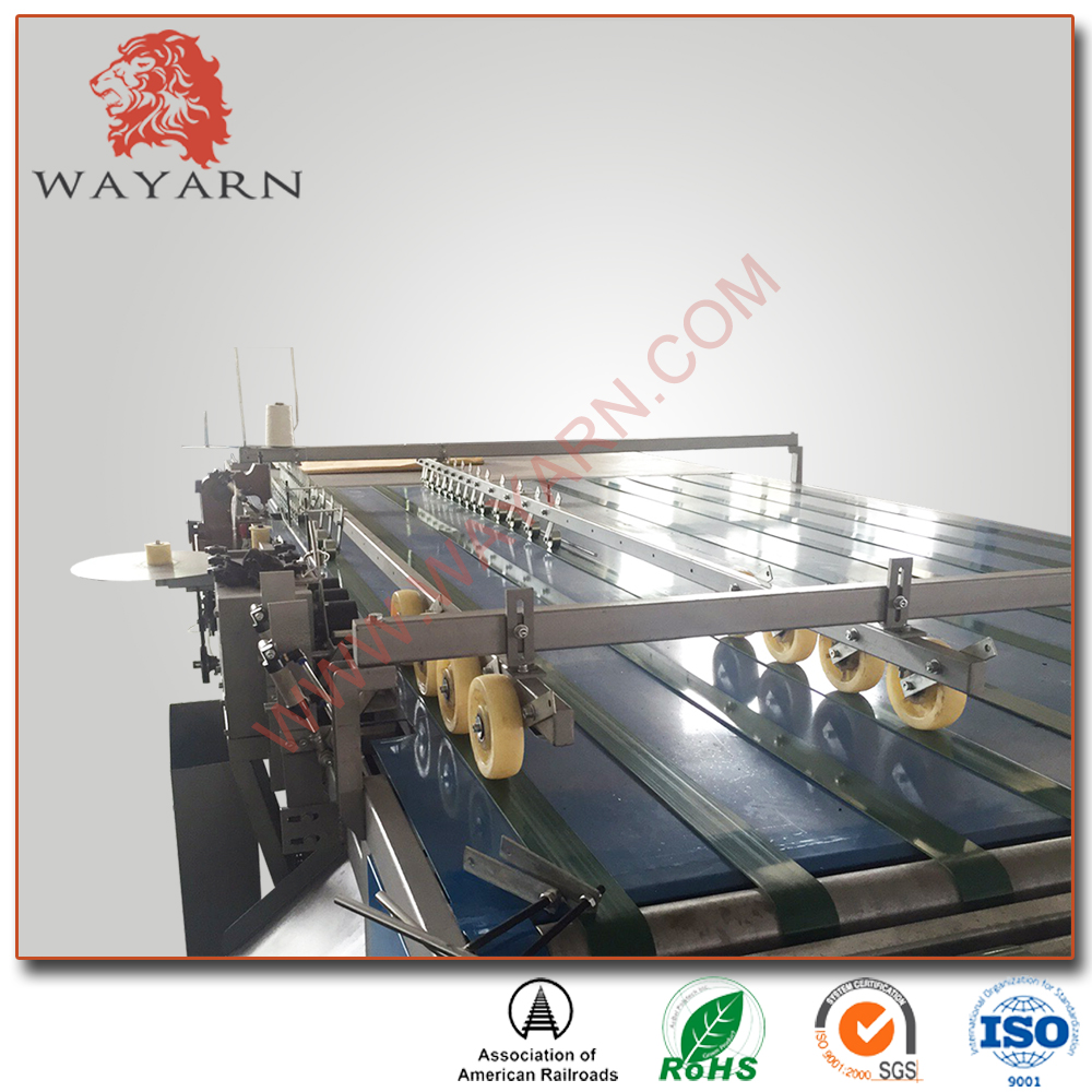 High Speed PP woven dunnage air bag making machine