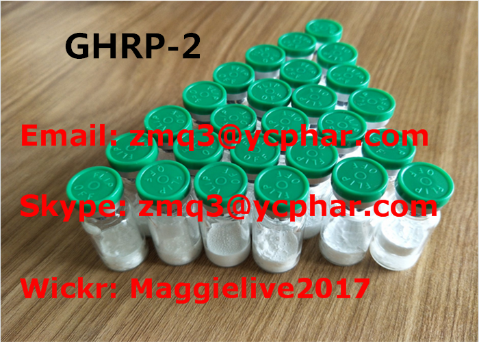 CAS 158861-67-7 Ghrp-2 Peptides Bodybuilding High Purity Pharmaceutical Grade Sample Free