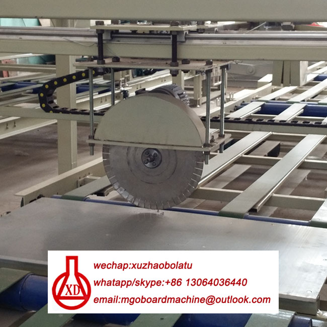 mgo container floor board machine