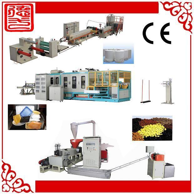 PS foaming sheet making machine