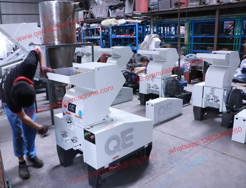 20HP plastic crusher granulator from QE granulators limited