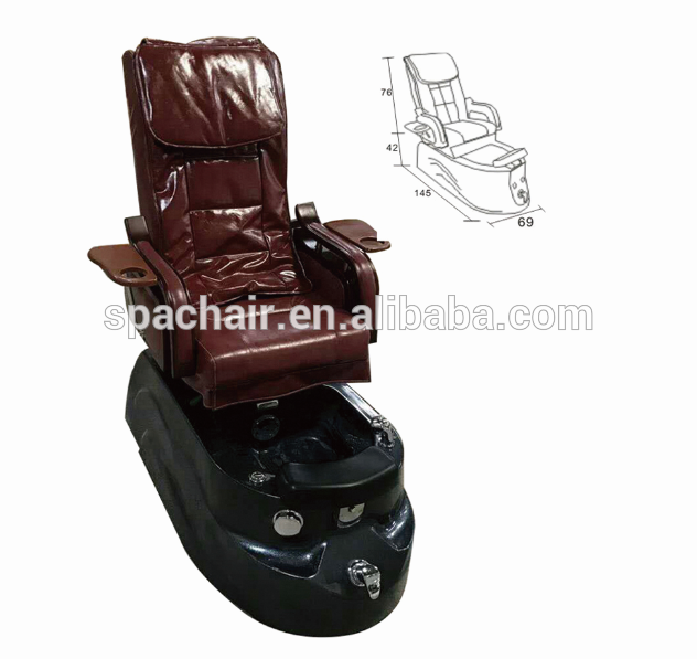Modern Whirlpool Spa Pedicure Chair Beauty Salon Equipment And Furniture