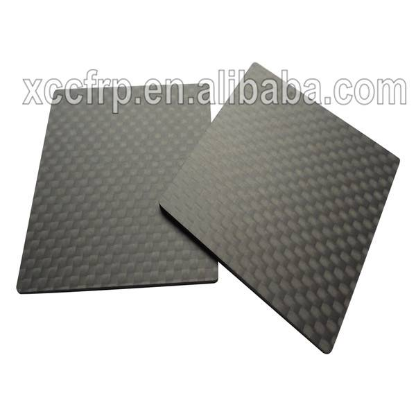 Factory custom 3K toray pure carbon fiber composite sheet/plate price