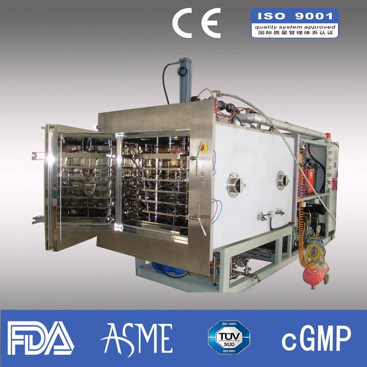 Lyophilizer/ Pharmaceutical lyophilizer/ industrial lyophilizer/Capacity 60kg