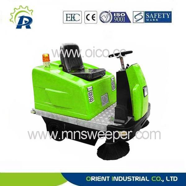 industrial ride-on sweeper