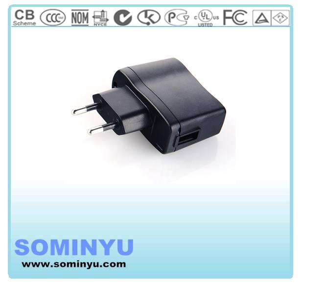 5V1A USB charge for smart phone with CE listed