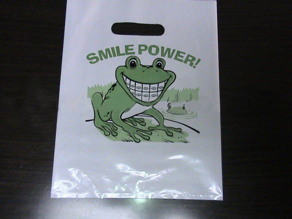 die cut plastic bags/cloth packing bags