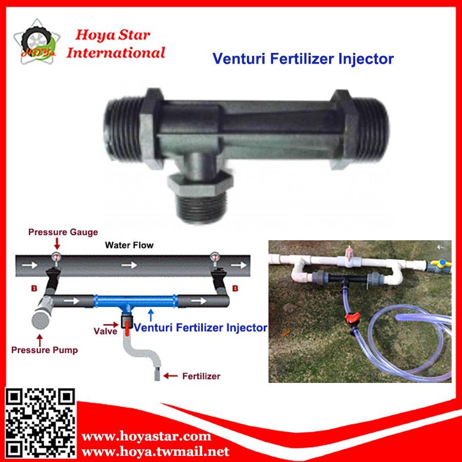 Venturi Fertilizer Injector