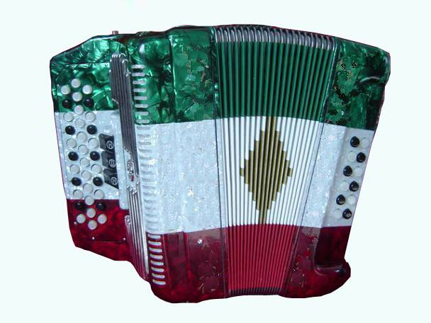 Button accordion 34Button 12Bass