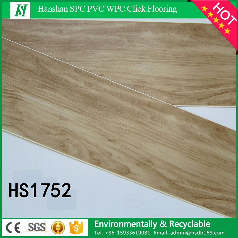 HanShan PVC 4.0mm Plastic lock floor