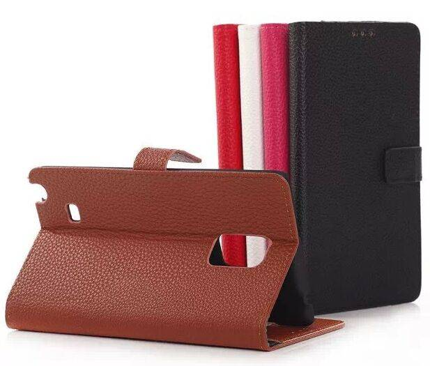 N9150 Genuine Leather Case for Samsung Galaxy Note Edge Case