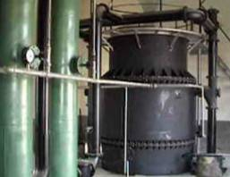 Biomass gasification furnace