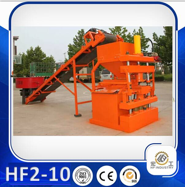 HF2-10 interlocking brick making machine brick machinery