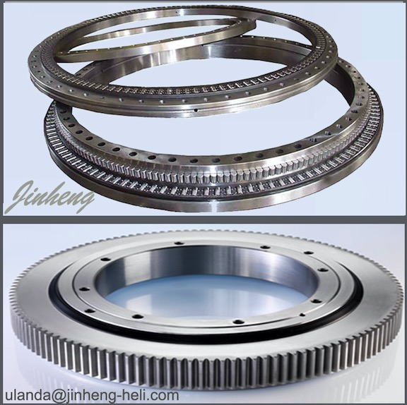 Slewing bearing for crane excavator solar power and wind turbine