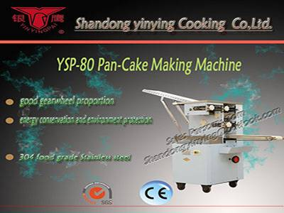 YSP80 cupcake stacks forming machine