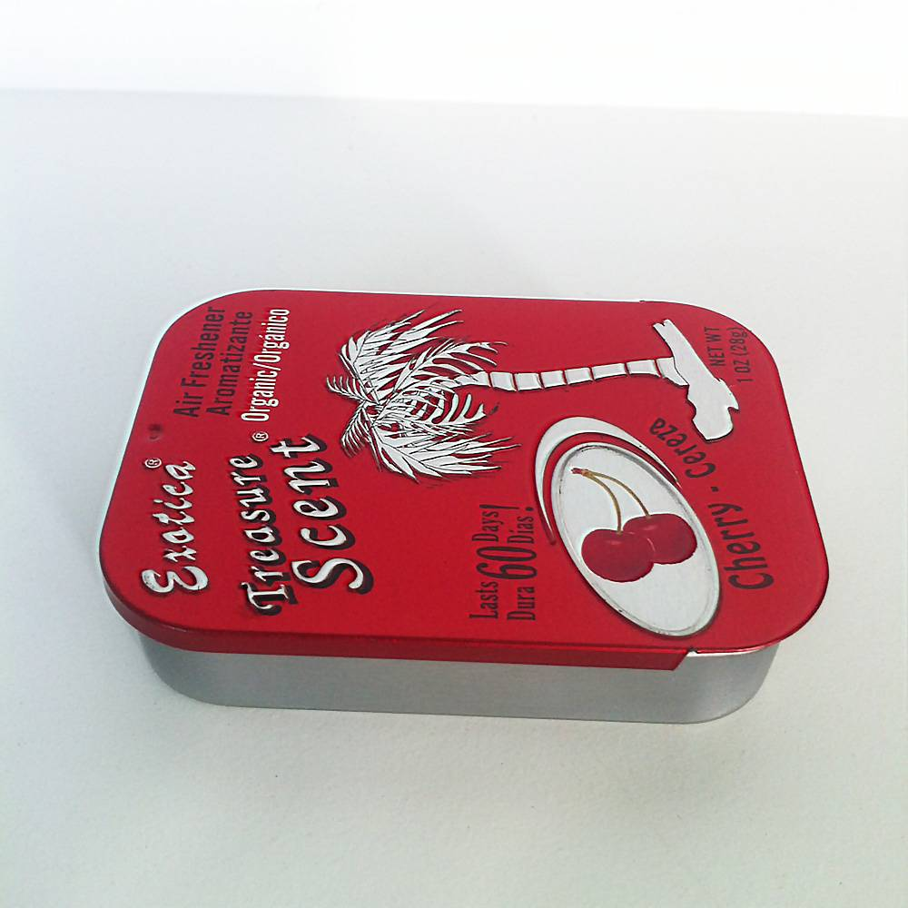 Mint Tin Box with Sliding Lid