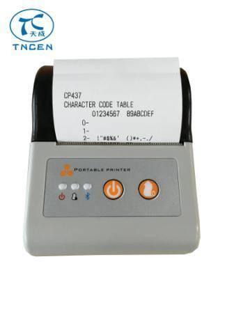 58mm Thermal Bluetooth Mobile Printer TCMPT001A panel kiosk portable Micro Receipt printer taxi prin