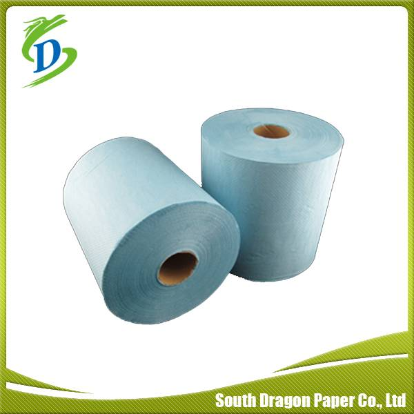Recycled Blue Color Paper Hand Towel