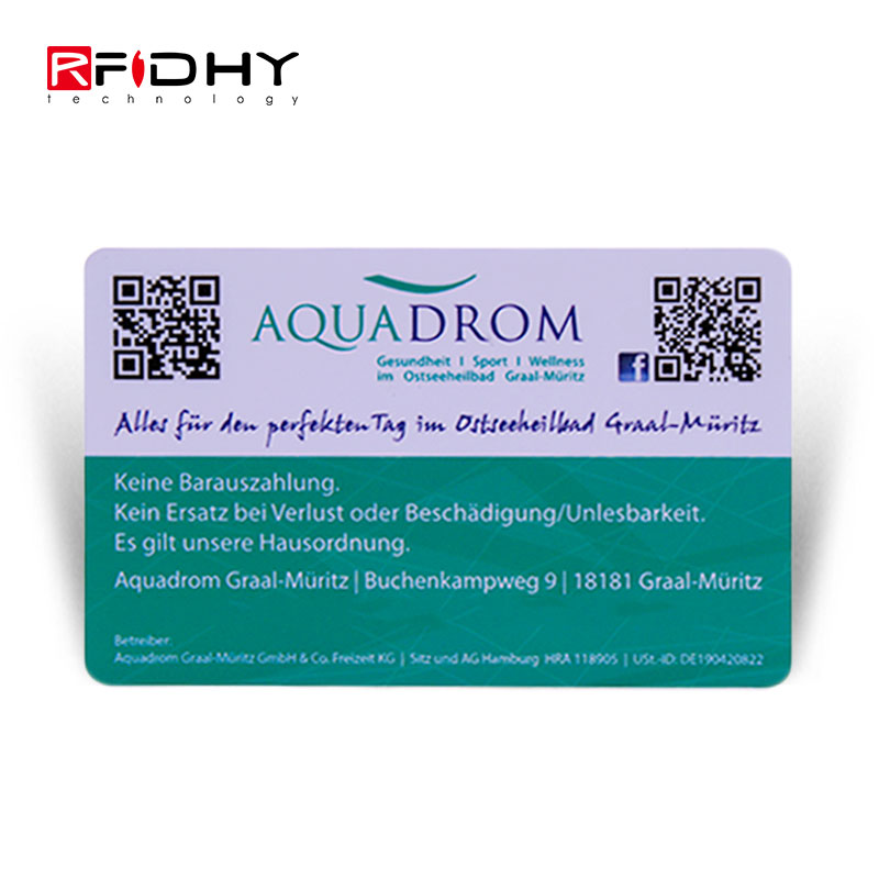 Programmable HF QR Code NFC Card for Cashless Payment