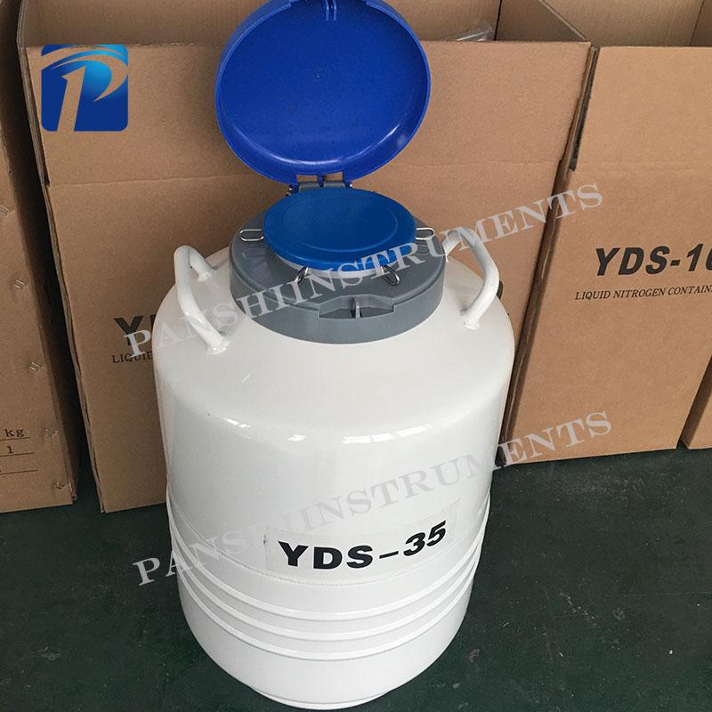Best quality Aviation brand cryogenic tank YDS-35 liquid nitrogen storage dewar price