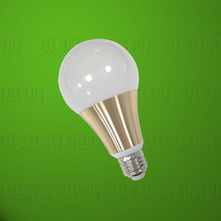 Die-Casting Aluminum Golden LED Bulb light 12W