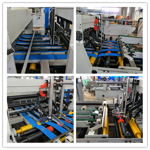 Full Automatic Down Folding Folder Gluer