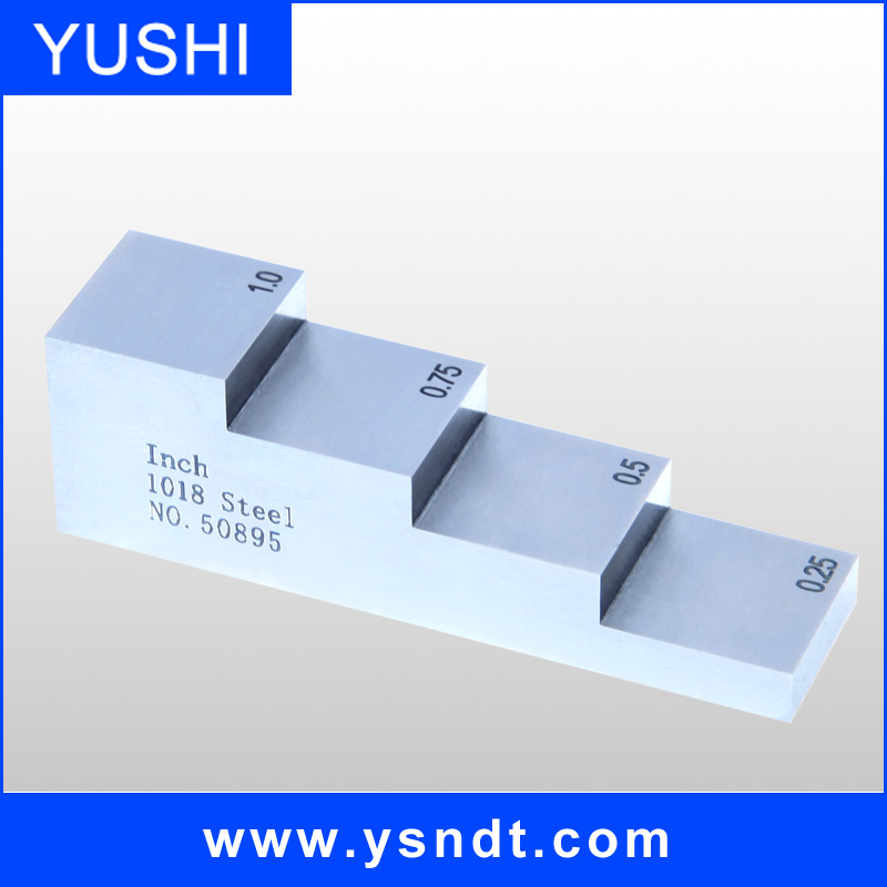 calibration gage blocks ultrasonic step test block for ultrasonic calibration blocks