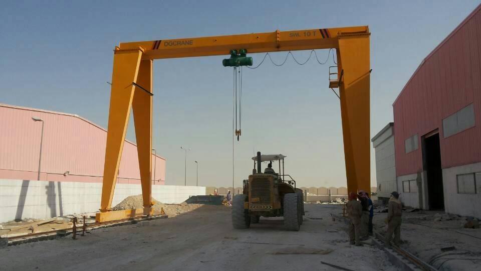 MH Model single girder gantry crane