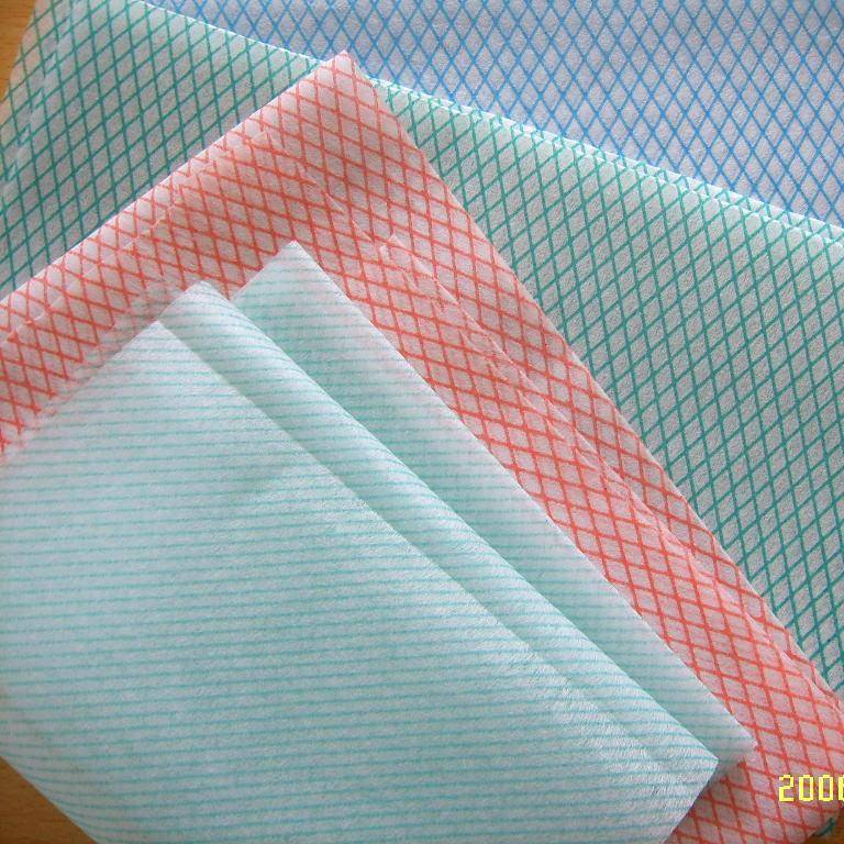 chemical bonded nonwoven fabrics fro all purpose wipes, Impregnated non-woven