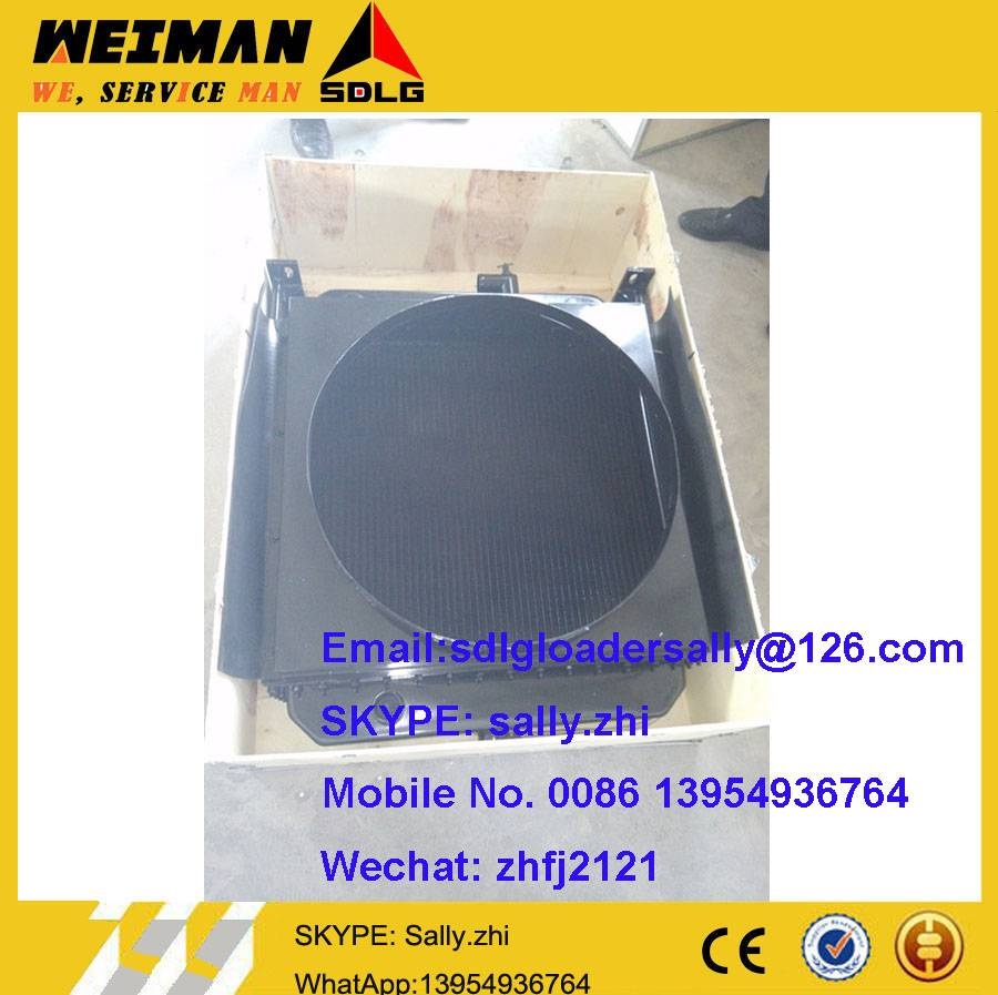 SDLG RADIATOR, 4120000353 with  black colour for SDLG wheel loader G936L