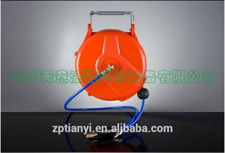 Tianyi High Quality air hose reel/automatic retractable hose reel/hose reel auto roll-up