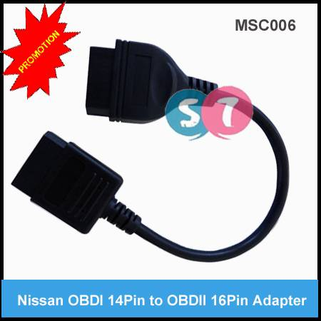 Nissan 14Pin Male to OBDII 16Pin Female Diagnostic Cable