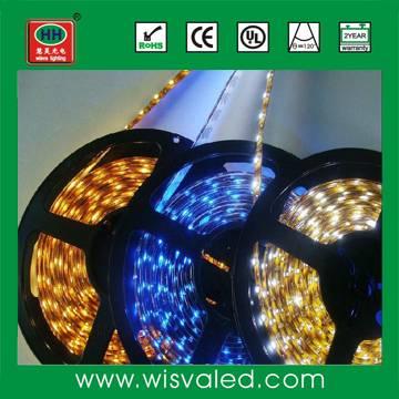 12v 24w/5m IP65 waterproof SMD 3528 flexible led strip waterproof