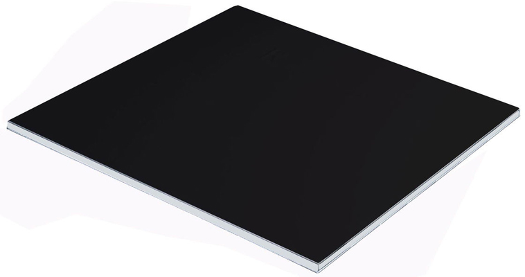Matte Black Panels, DE Aluminium Composite PVDF Coated Architectural Sheet OEM Protective Film