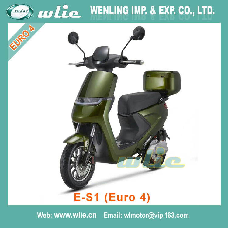 With Euro 4 EEC 2000w electric Scooter E-S1 (Euro 4)