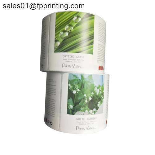 Custom coated paper adhesive label roll from China
