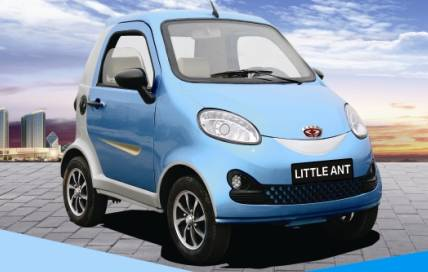 Electric vehicle cars little ant