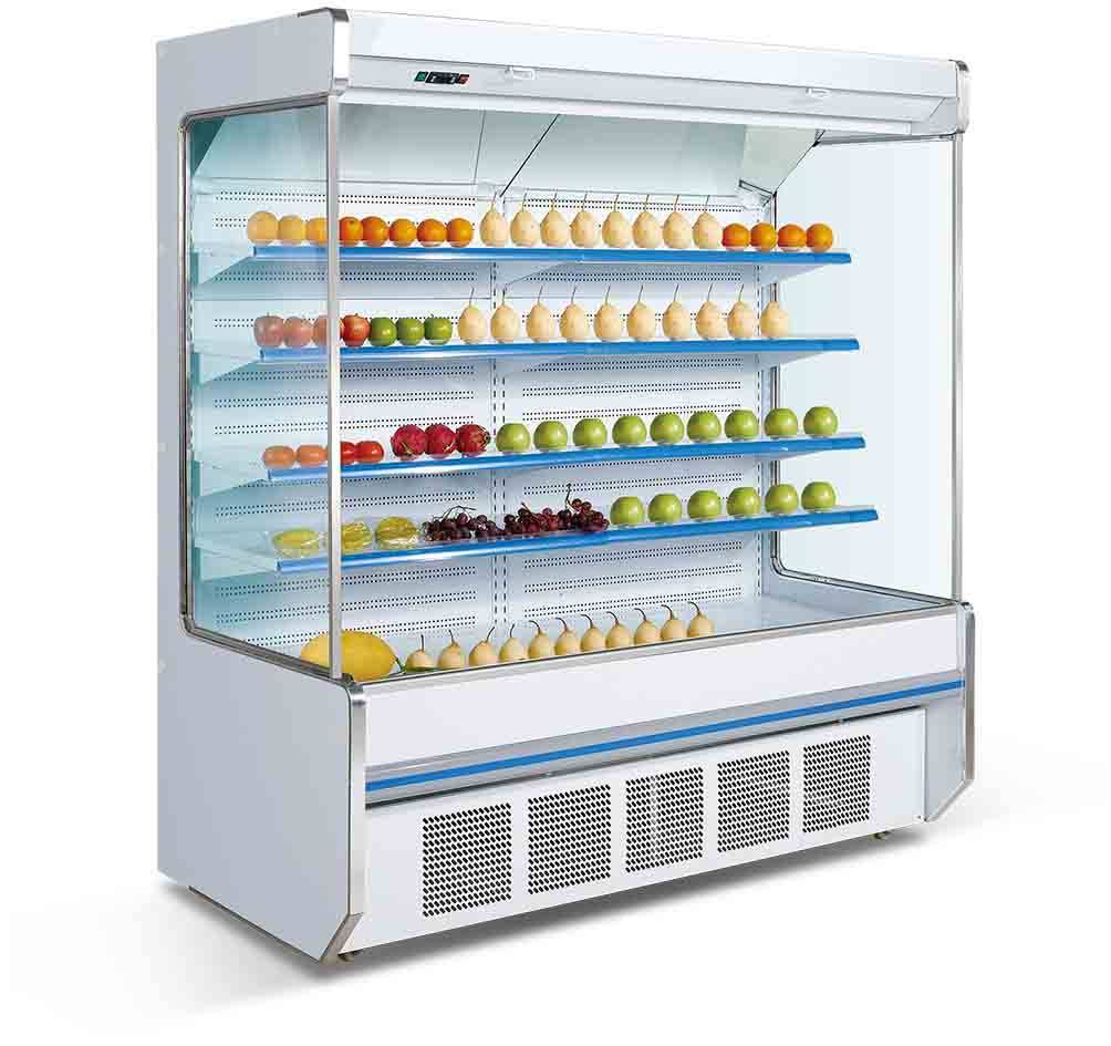 Air cooling supermarket refrigerator beverage/fruit refrigerator