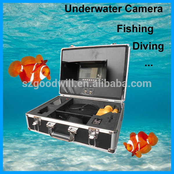 20m, 30m, 50m, 60m, 100m cable can be chosen, underwater video camera fishing