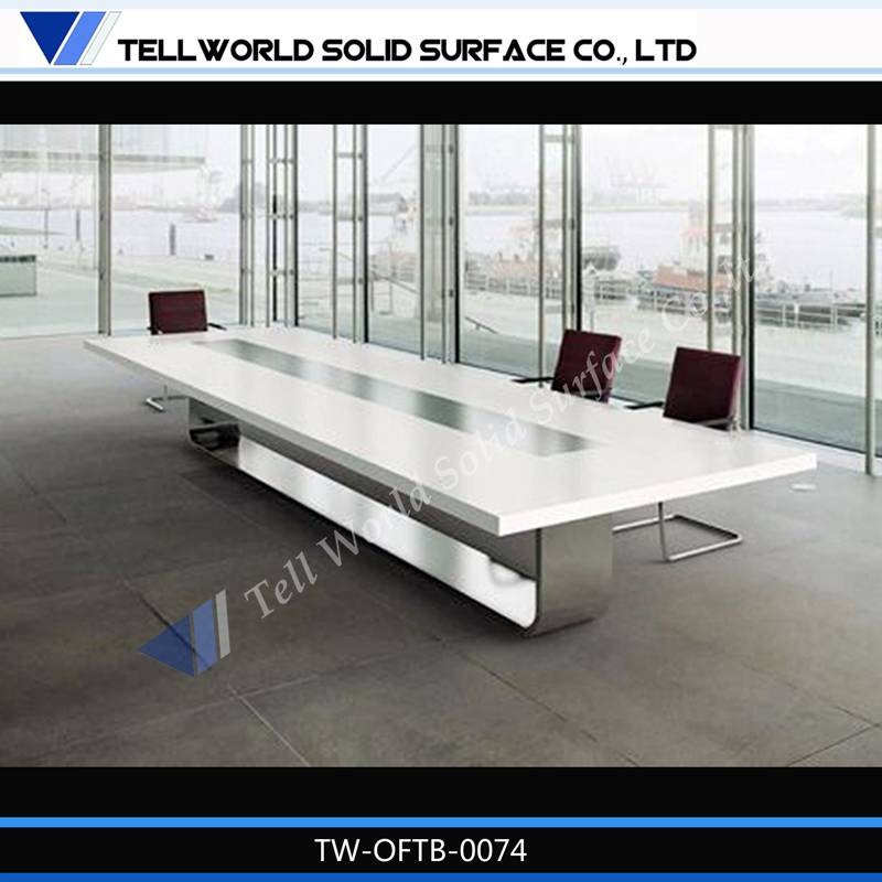 10-year-warranty conference table acrylic solid surface